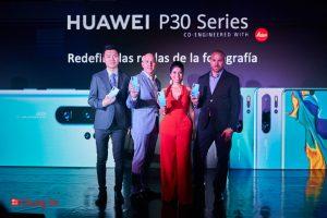 La nueva serie Huawei p30 llega a Panamá junto a la Patrona Remix