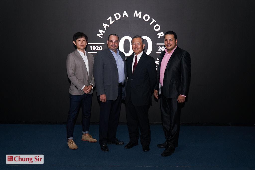 Mazda conmemora 100 años de trayectoria a nivel Mundial