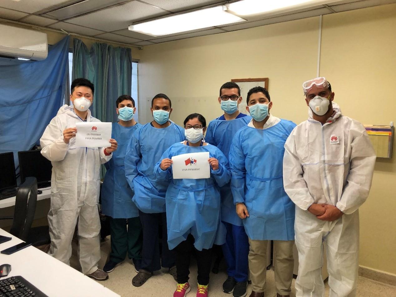 El Complejo Hospitalario Dr. Arnulfo Arias Madrid Implementó la Primera Plataforma de Diagnóstico de Covid-19 con Inteligencia Artificial de Huawei