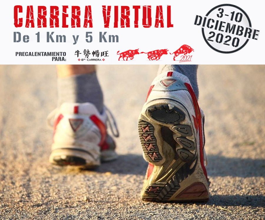 ¿Carrera virtual?