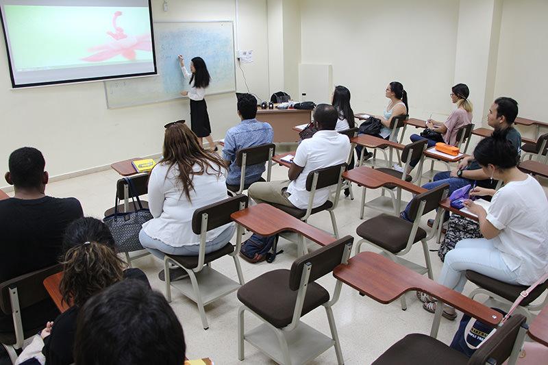 Centro especializado en lenguas en la UTP