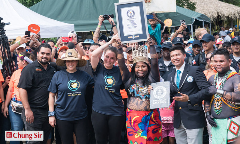Guinness World Record – El Patacón más grande del Mundo