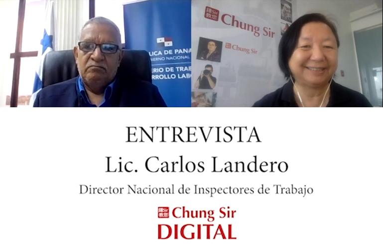 Entrevista Lic. Carlos Landero, Director Nacional de Inspectores de Trabajo