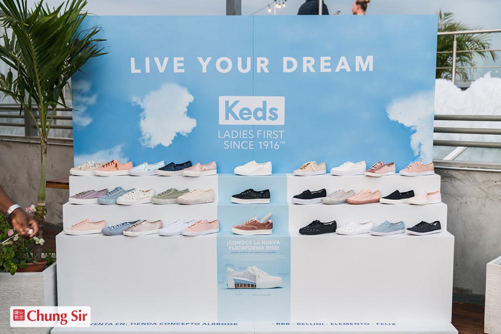 """Keds lanza su colección Primavera  2019 """"Live Your Dream"""""""