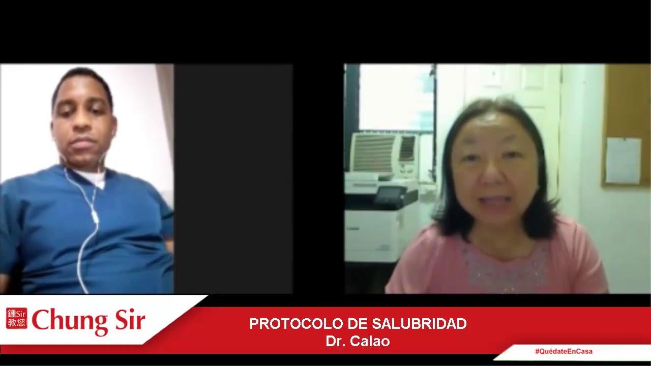 Protocolo de salubridad. Entrevista al Dr. Calao